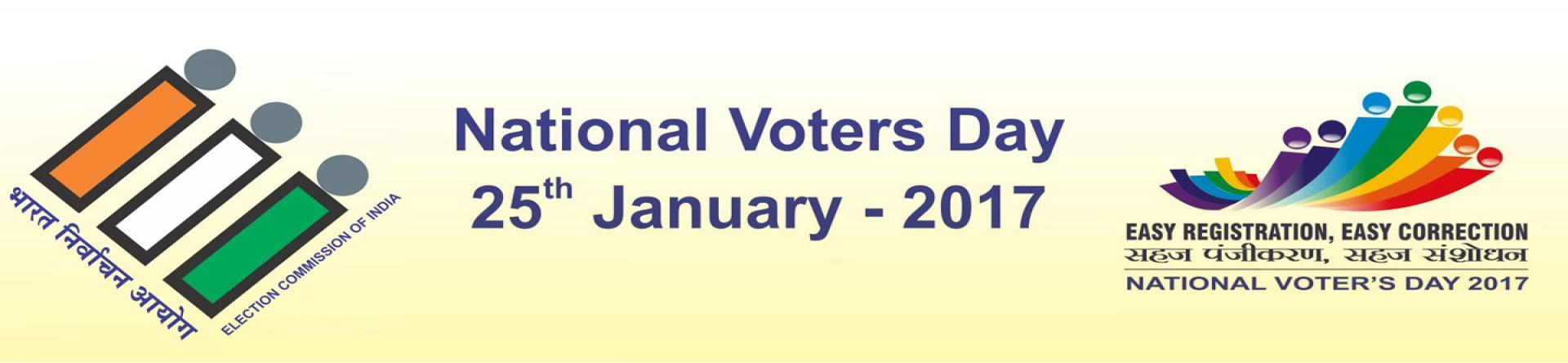 National Voter's Day - Easy Registration, Easy Correction