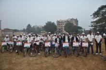 All voters ready to start cycle rally