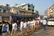 Boys rally on Voter's day