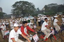 Cycle Rally with Motto